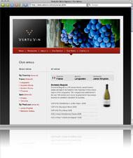 VertuVin Website