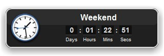 Event Countdown Widget for Mac