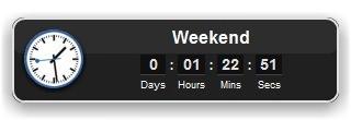 Event Countdown Widget for Mac