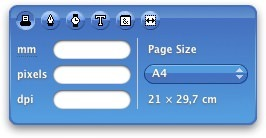 Designers Toolbox widget for Mac